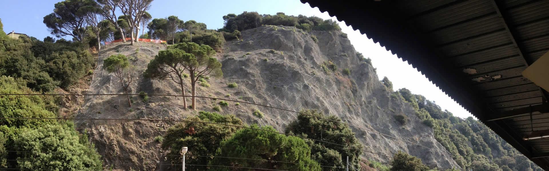 Monterosso Cinque Terre Consolidamento versante